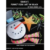 Shara's Funky Folk Art in Black