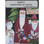 Shara's Collections of Santas