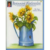 Beginning Watercolors Workshop Front Cover by Susan Scheewe