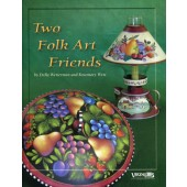 Two Folk Art Friends