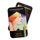 12 Prismacolor Professional Art Pencil Set