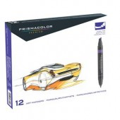 12 PrismaColor Primary and Secondary Marker Set