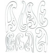 French Curve Set of 8