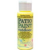 Sunshine Yellow, DecoArt Patio Paint 2oz