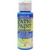 Summer Sky-Blue, DecoArt Patio Paint 2oz