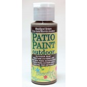 Woodland Brown, DecoArt Patio Paint 2oz