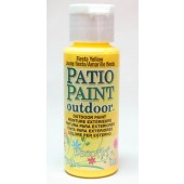 Fiesta Yellow, DecoArt Patio Paint 2oz