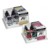 FW Pearlescent Effect Acrylic Artists Inks, Set of 6
