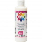 Delta Ceramcoat Gloss Interior Varnish 8 oz Squeeze Bottle