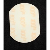 Large 100/220 Grit Sanding Pad, 3 in x 4 in