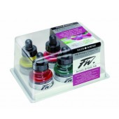 FW Primary Color Acrylic Artists Inks, Set of 6