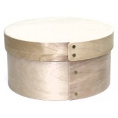 Extra Small, Bentwood Round Stacking Box