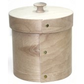 Small, Bentwood Canister