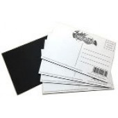 Postcards, 25 Pack Classroom, Fredrix Creative Paint-A-Shape Canvas