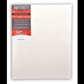 "Pack of 6 Fredrix Artist Red Label Pre-stretched Canvas 6"" x 12"""