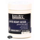 Liquitex Super Heavy Gesso - Surface Prep, 8 oz.