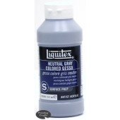 Liquitex - Neutral Gray Gesso, 8oz