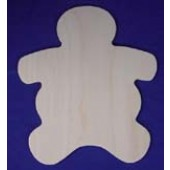 Gingerbread Man, Shapes for Seasons Plywood Cutout
