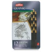 Derwent Graphic Set of 12 Hard Pencils