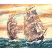 Reeves Senior Acrylic Paint by Numbers  - Sailing Ships
