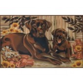 Reeves Senior Paint by Numbers - Resting Labradors