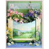 Gran's Flower Garden Front Cover by Ros Stallcup