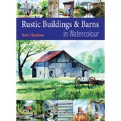 Rustic Buildings and Barns in Watercolor
