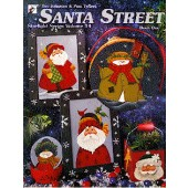 Santa Street Book 1 Front Cover by Bev Johnston & Pam Tyriver