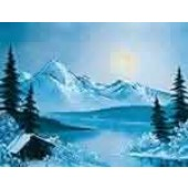 1 Hour Single Painting DVD - Winter Glory
