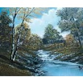 1 Hour Single Painting DVD - Autumn Stream