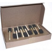1 inch Foam Brush, Case of 48