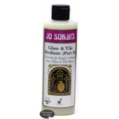 Jo Sonja Glass and Tile Medium (Part B), 8 oz Bottle