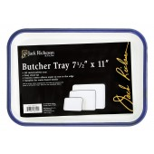 7-1/2 inch x 11 inch Metal Palette Butcher Tray