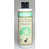 Fast Drying Glaze Medium, 8 oz Bottle