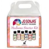 Jo Sonja Medium Starter Kit, 6 - 2 oz Bottles