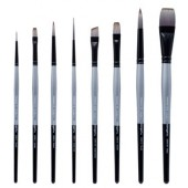 KingArt Stellar Premium Brush Set, 8 Piece