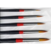 Loew Cornell 7000 Series Ultra Round Brush Set, 5 Piece