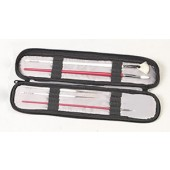 Black Slim Jim Brush Case, Just Stow-it