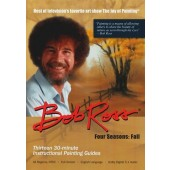 Fall: Four Seasons Bob Ross, 3-Disc DVD Set