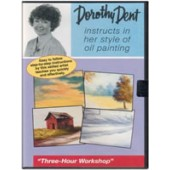 3 Hour Oil Painting Workshop DVD, Dorothy Dent