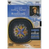 Getting Started with Rosemaling in Oils, 1 Hour DVD