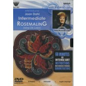 Intermediate Rosemaling in Oils, 1 Hour DVD