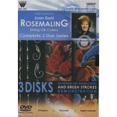 Rosemaling Oil Painting Workshop, 3 Hour DVD