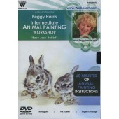 Intermediate Animal Oil Painting Workshop 'Baby Jack Rabbit', 1 Hour DVD