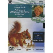 Advanced Animal Oil Painting Workshop 'Squirrel', 1 Hour DVD