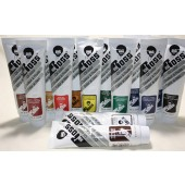 Set of 14 Bob Ross Large Landscape Oil Paints