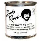Bob Ross Liquid White Oil Paint, 8 oz Can