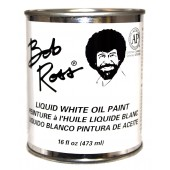 Bob Ross Liquid White Oil Paint, 16 oz Can