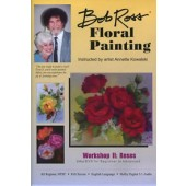 Bob Ross Floral Painting 2 Hr Workshop DVD: Roses