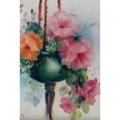 Bob Ross Floral Packet - Pot O' Pink Poppies